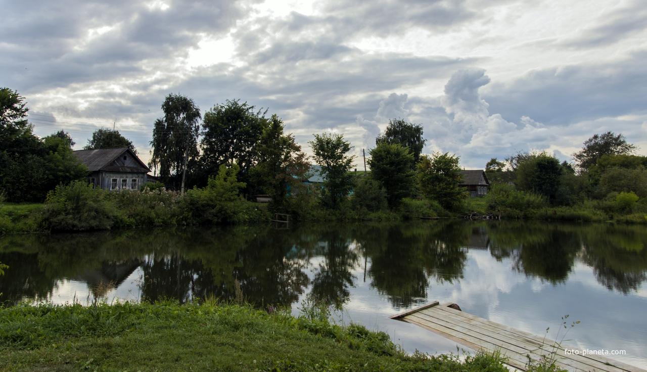 Пруд в с. Петровское