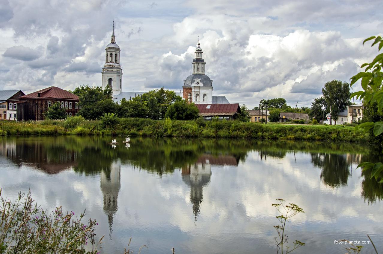 Церковь Петра и Павла в с. Петровское