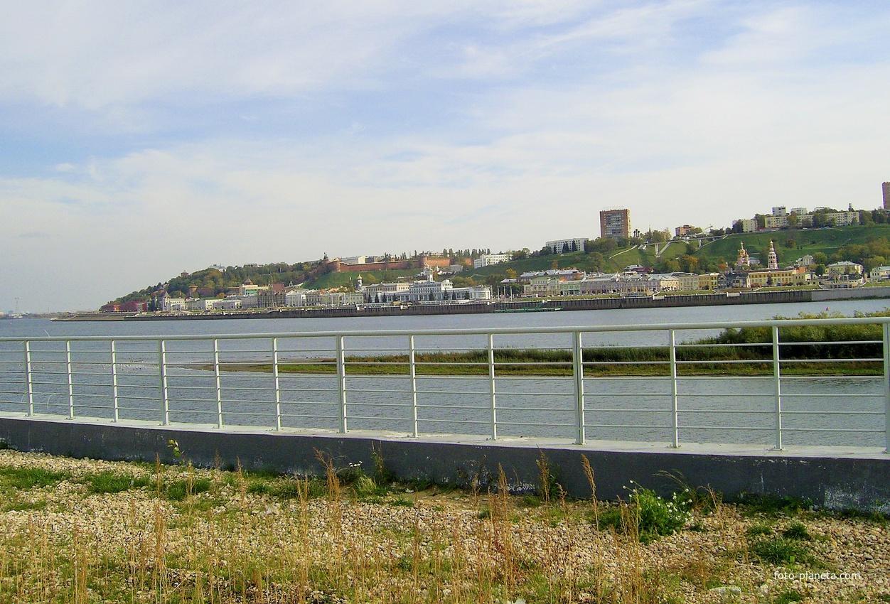 Н. Новгород - Вид со «Стрелки»