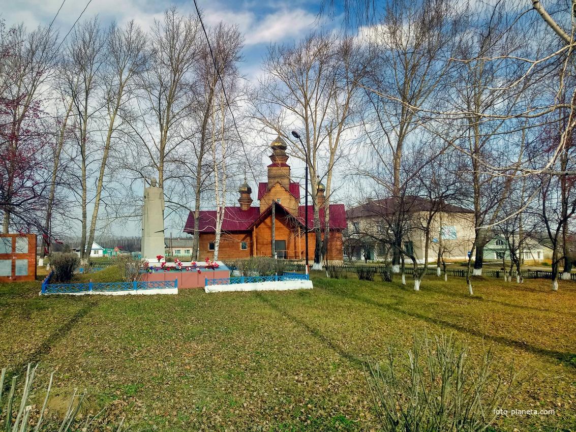 Большое Трифоново. Церковь Трифона мученика. 2018 год
