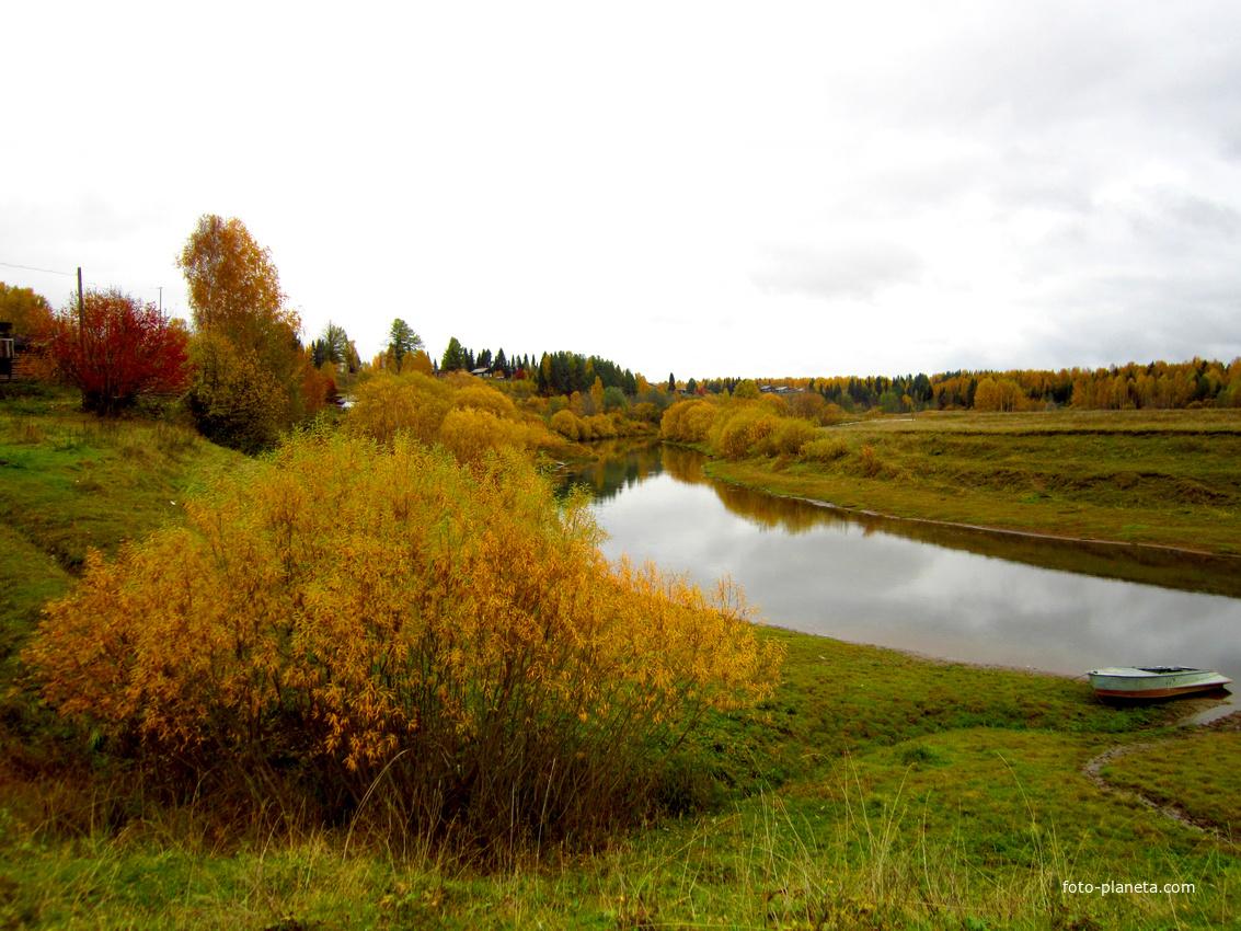 Золотая осень. Нижний Воч.