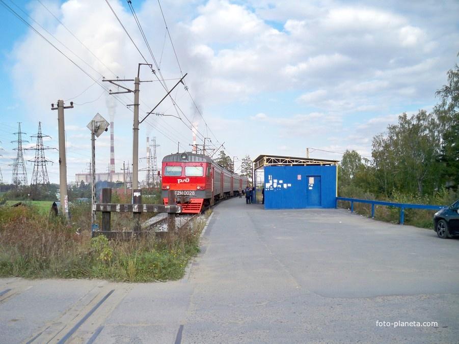Платформа Рефтинская (19 км)