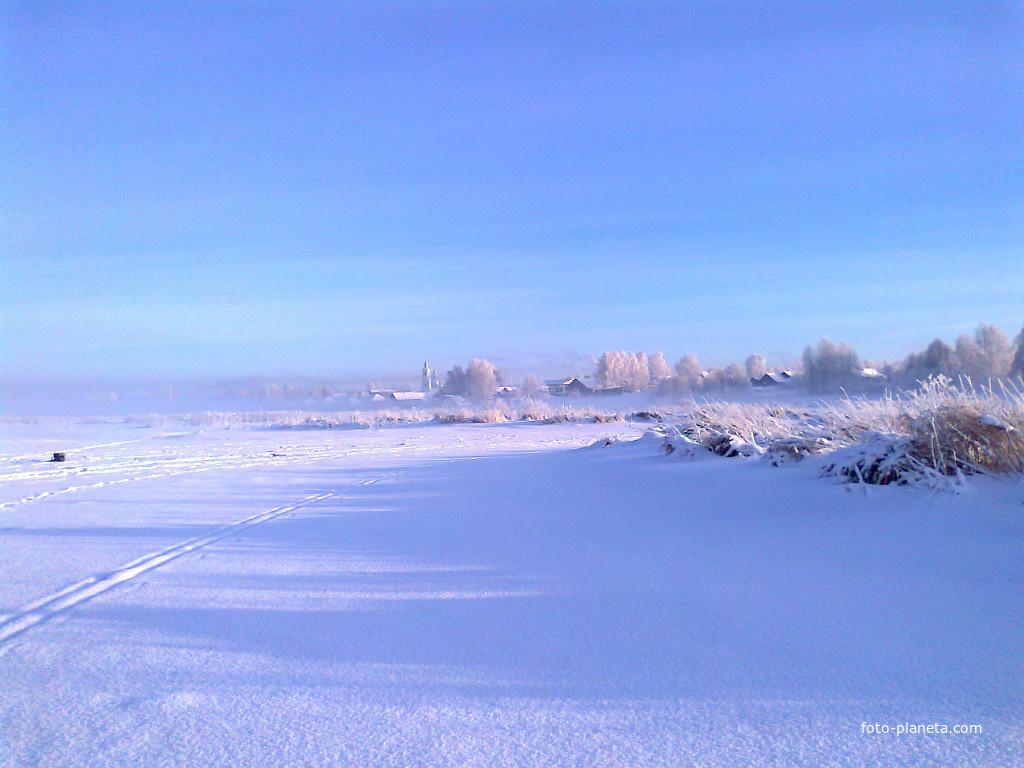 Кундыш зимой