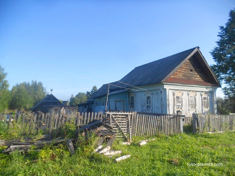 Единственный жилой дом