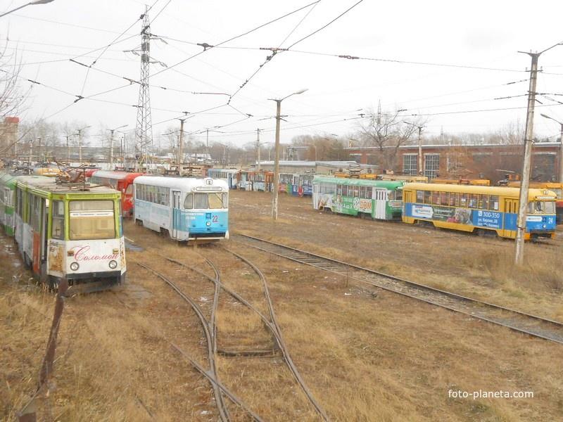 Трамвайное депо
