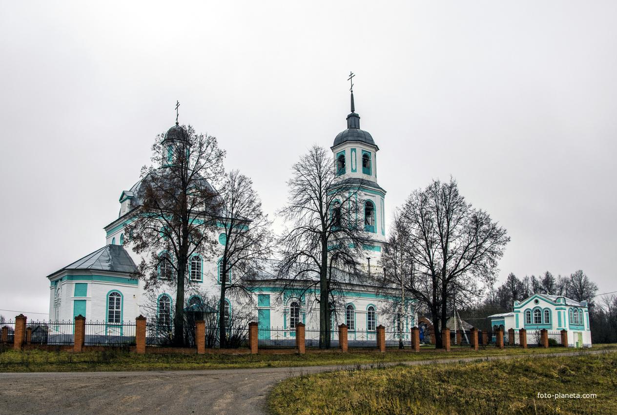 Крестовоздвиженская церковь в с. Кукнур Сернурского района Республики Марий Эл