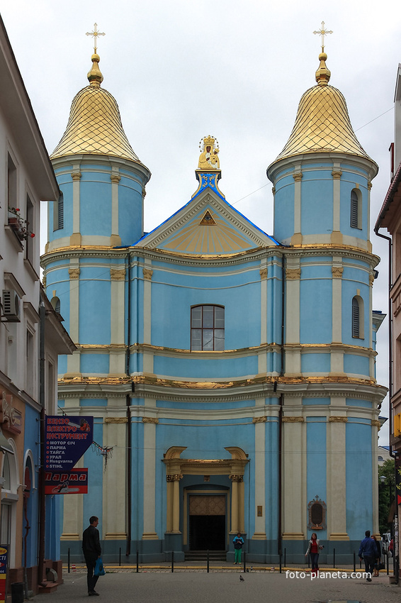 «Голубая церковь» - Покровский кафедральный собор украинской автокефальной православной церкви