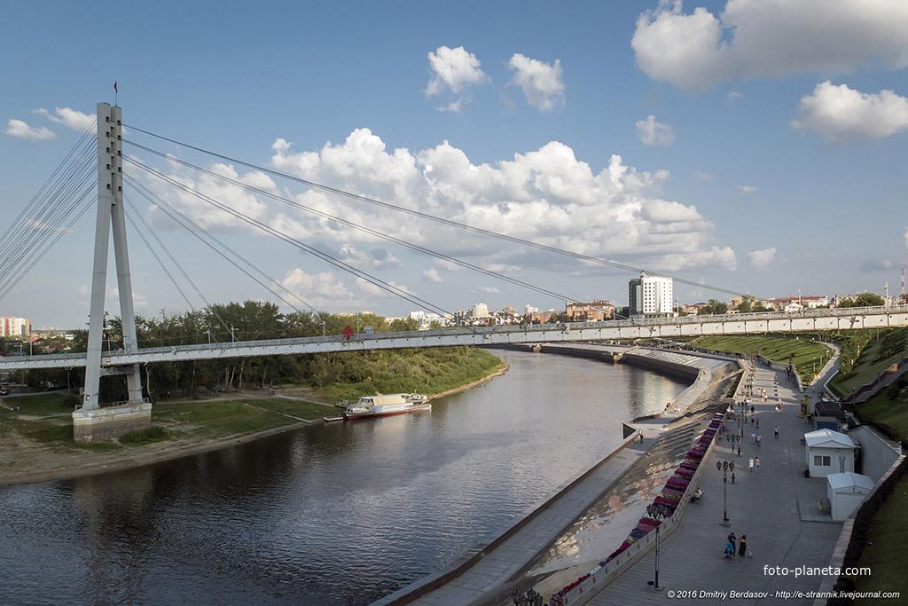 Мост через реку Тура