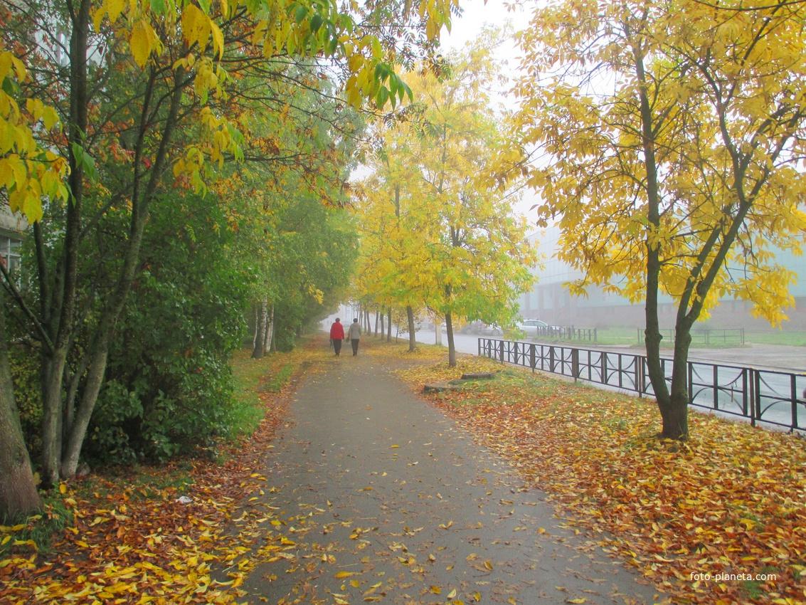 Осень в городе Тосно