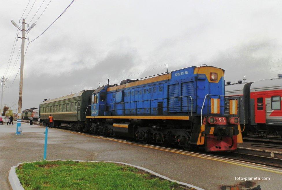 Станция Верхнекондинская