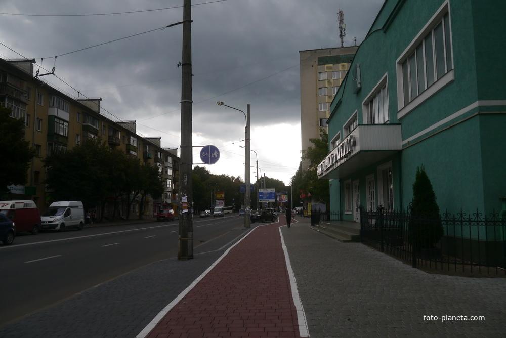 Улица Галицкая
