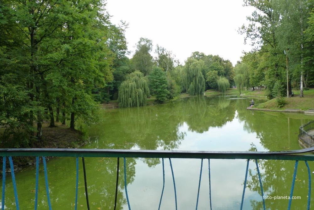 Река Стугна в парке