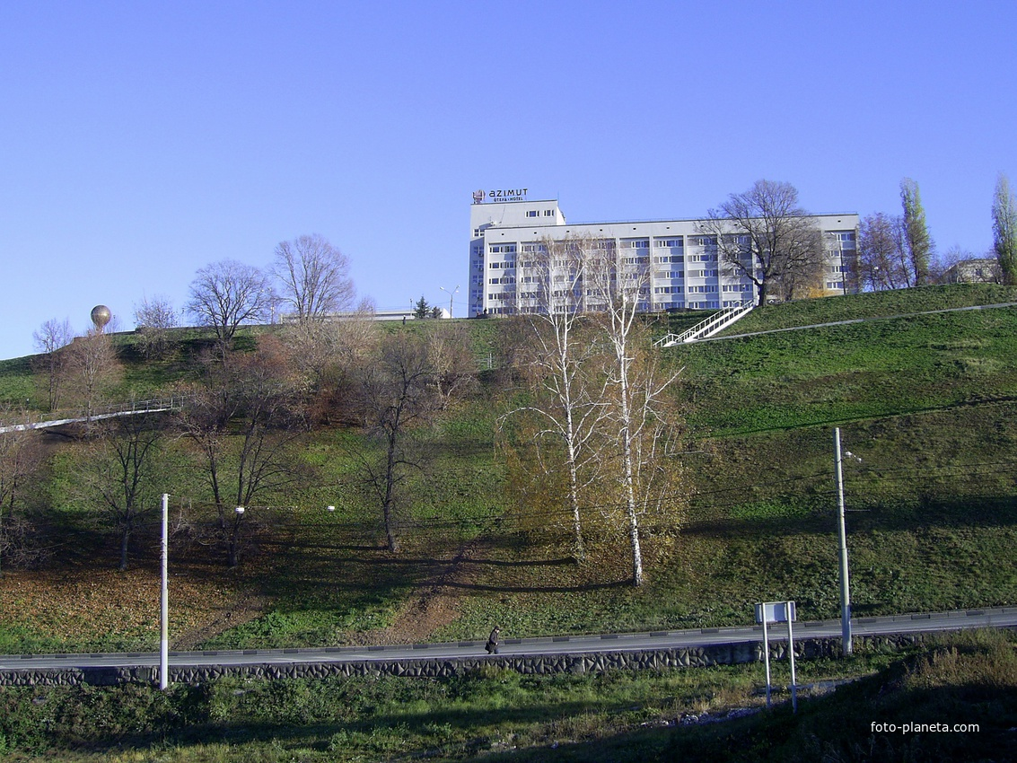 Н. Новгород - Похвалинский съезд - Отель Азимут