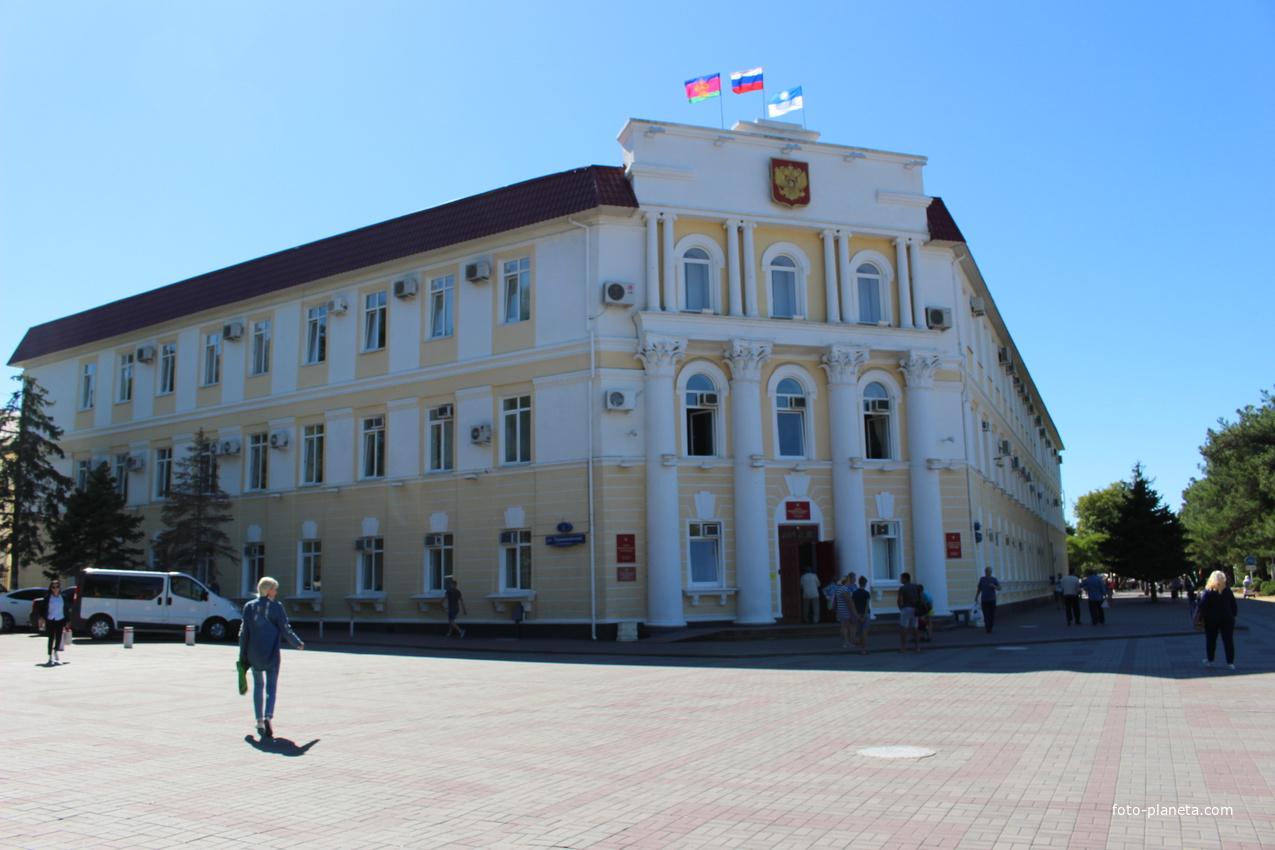 Здание мэрии.