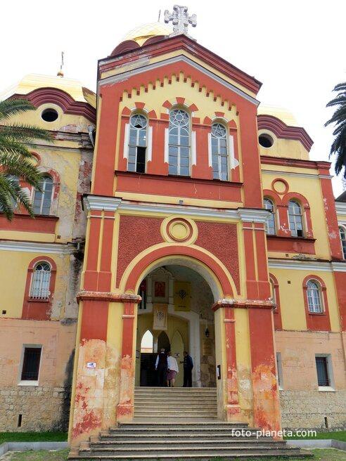 Ново-Афонский монастырь. Церковь Вознесения Господня