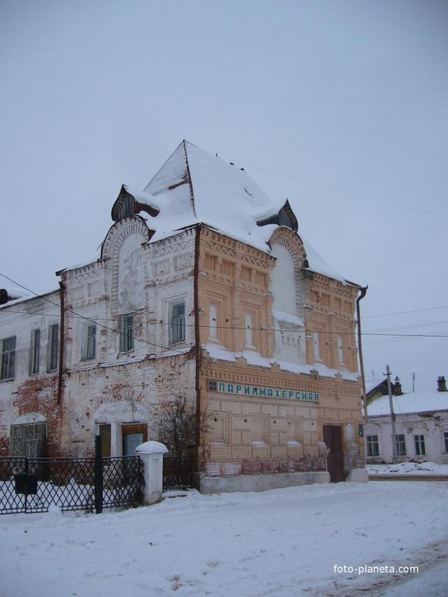 Старое здание города
