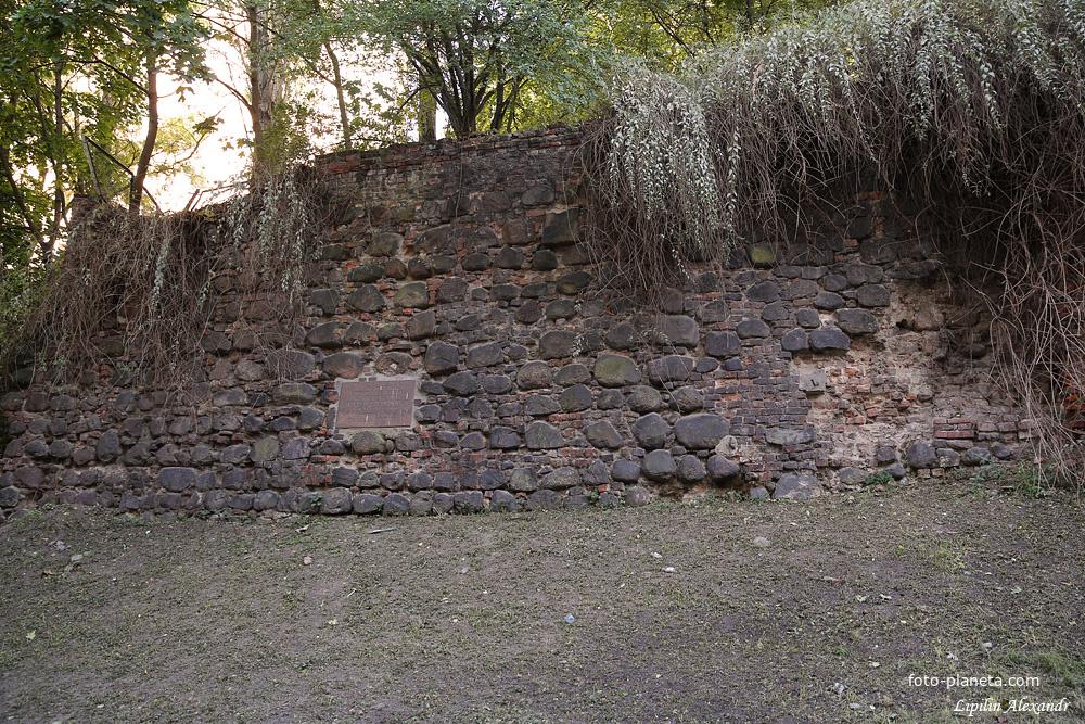 Старая городская стена