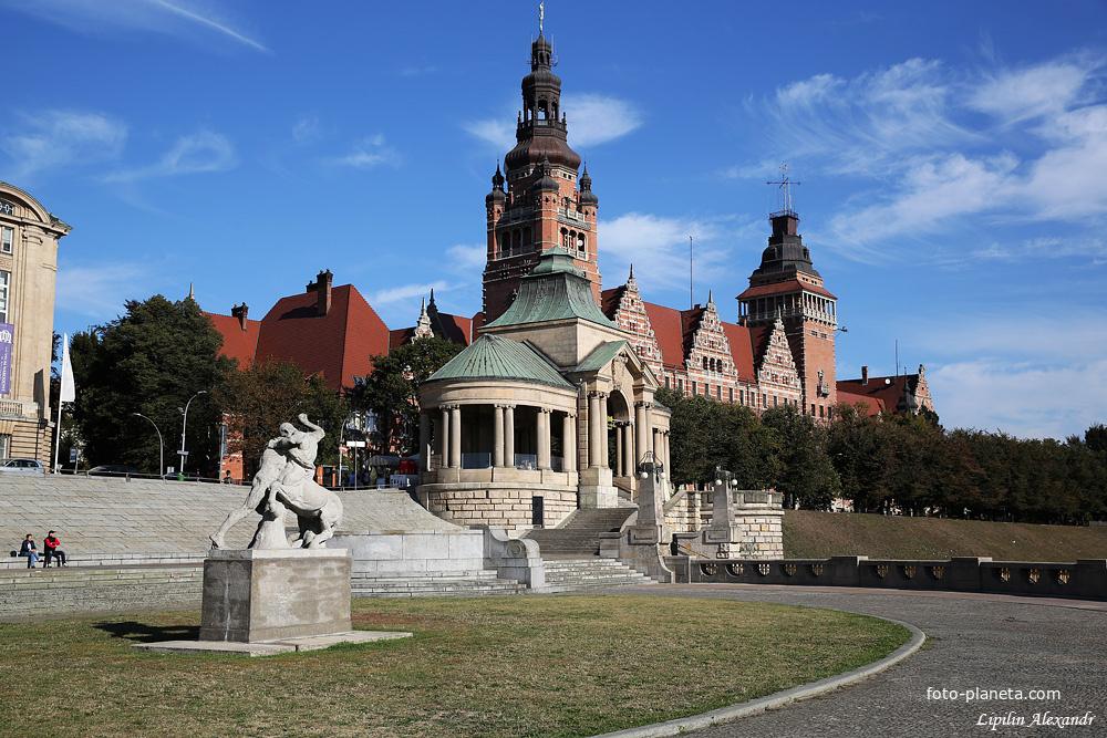 Правительственное здание Щецина