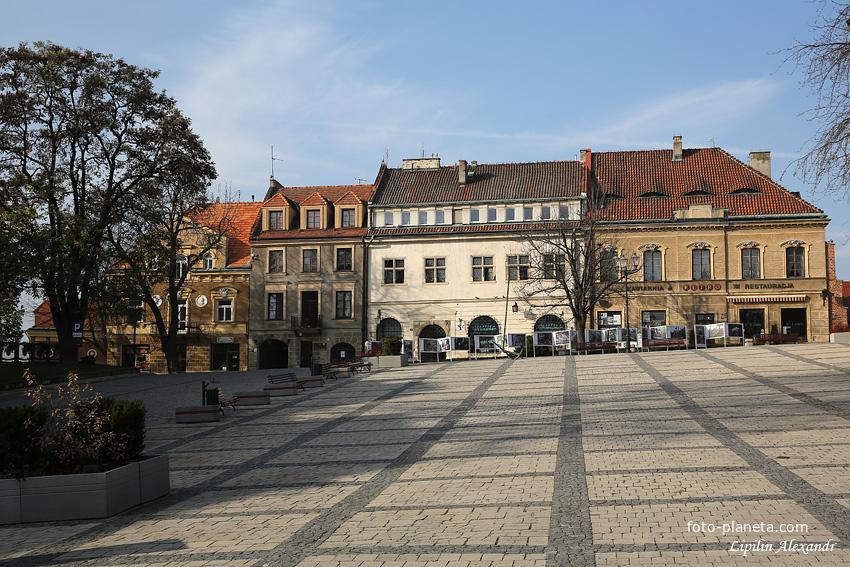 Главная площадь Сандомира