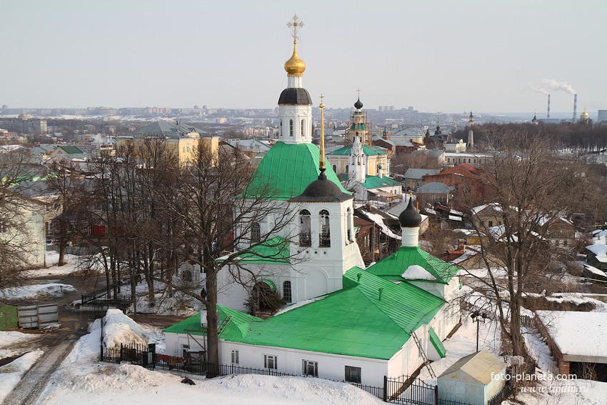 церкви Св. Николы и Спасо-Преображенская