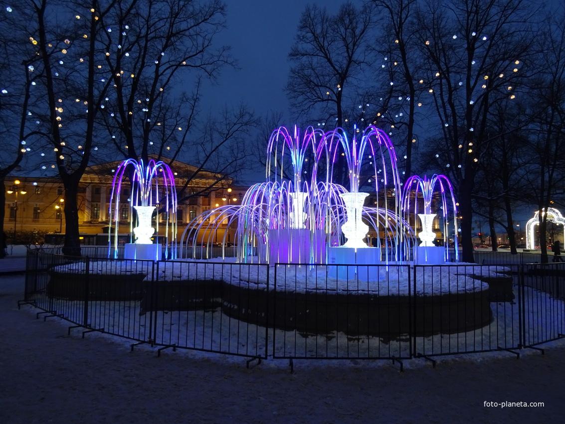 Сад Зимнего дворца