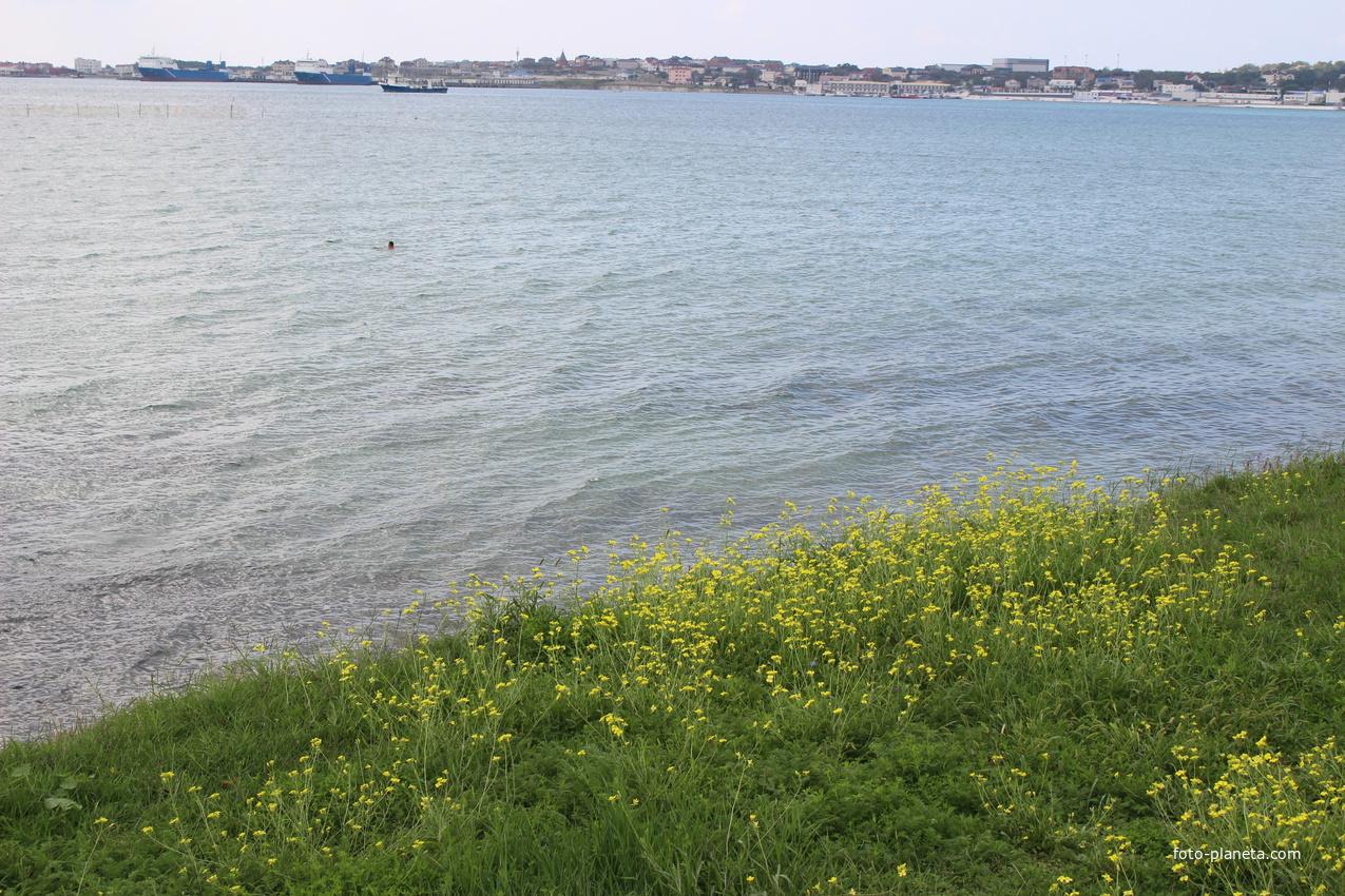 Бухта Геленджикская.