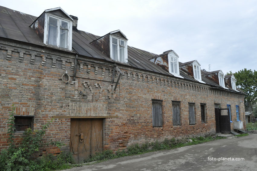 Старый кирпичный дом в Ошмянах