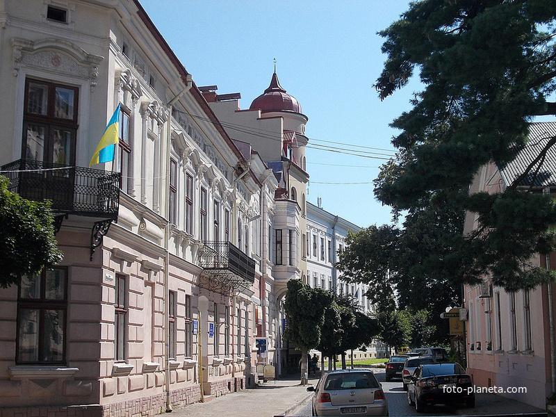 Улица города Коломыя