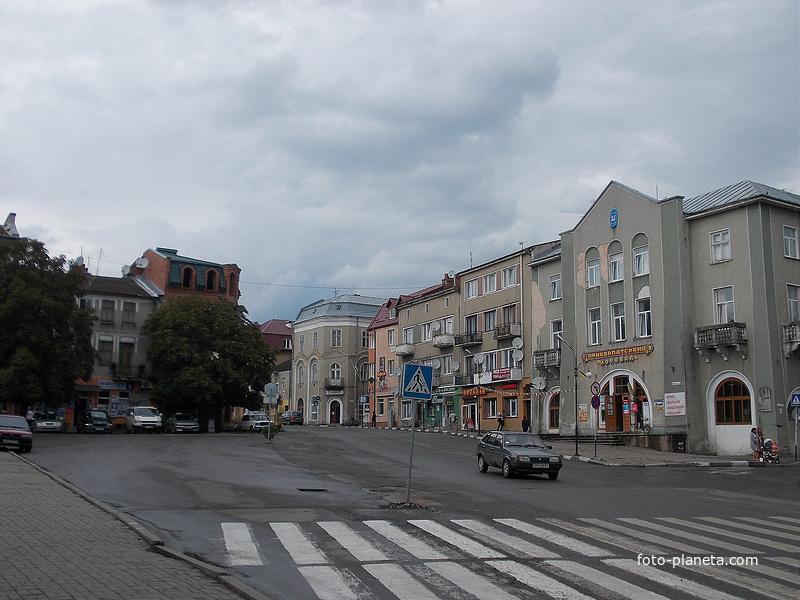 На улице города Рогатин