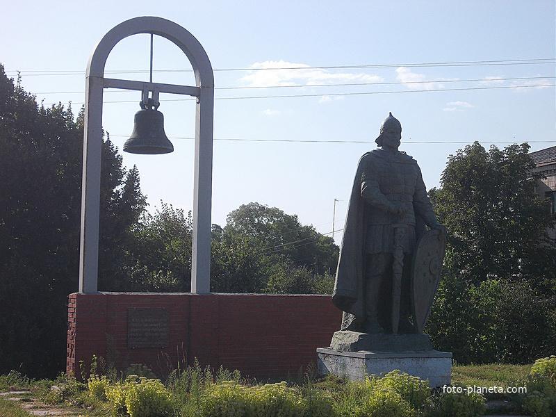 Памятник Владимиру Глебовичу