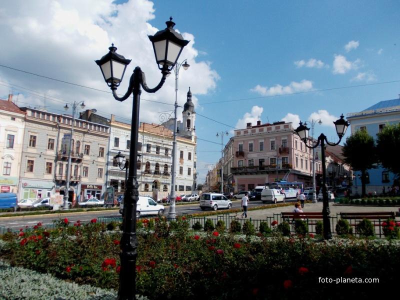 Улица города Черновцы