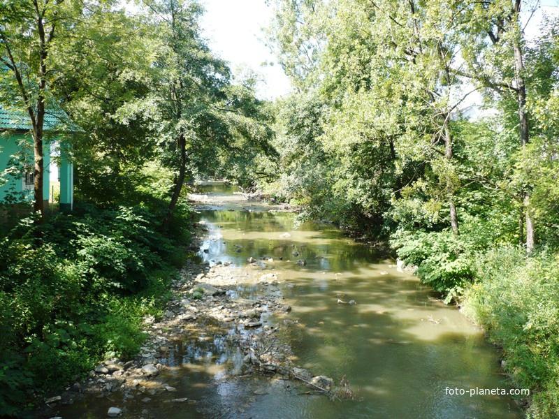 Река Свалява