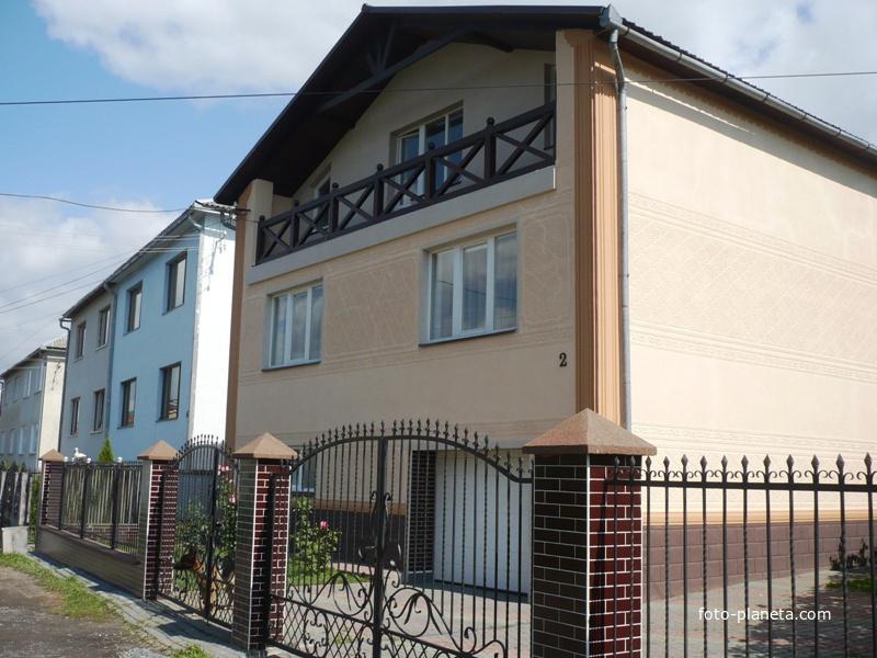 Жилые дома в городе Свалява
