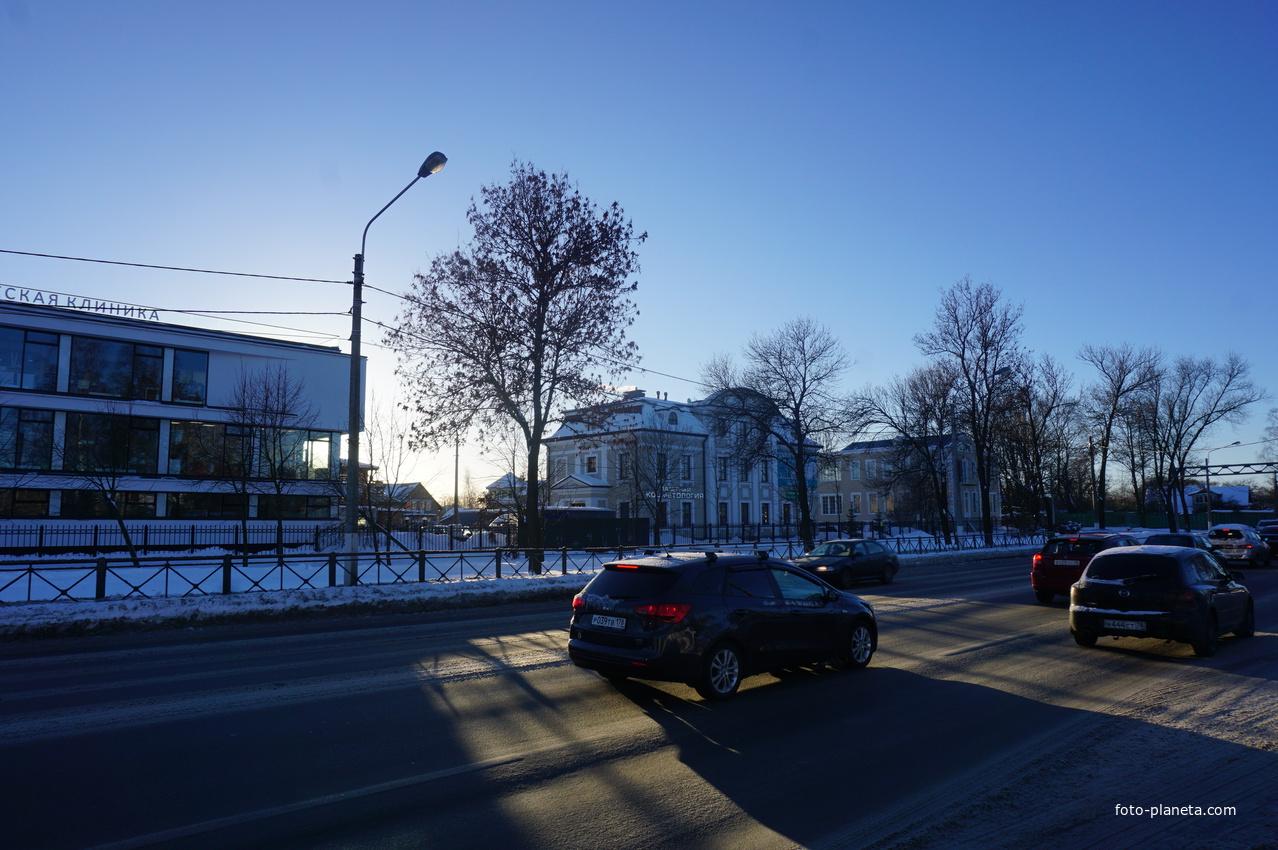 Санкт-петербургское шоссе.
