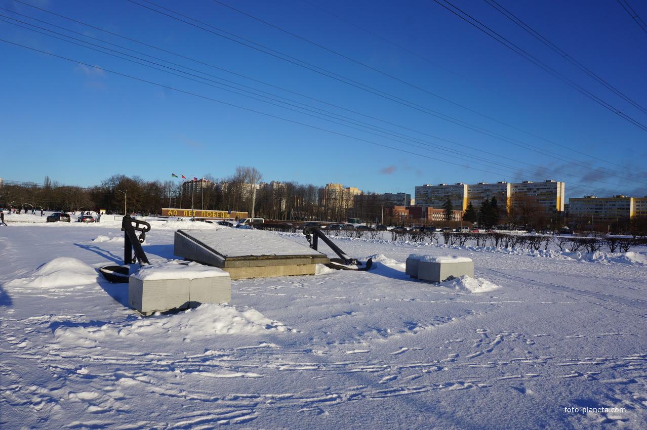 Вход на территорию Южно Приморского парка...