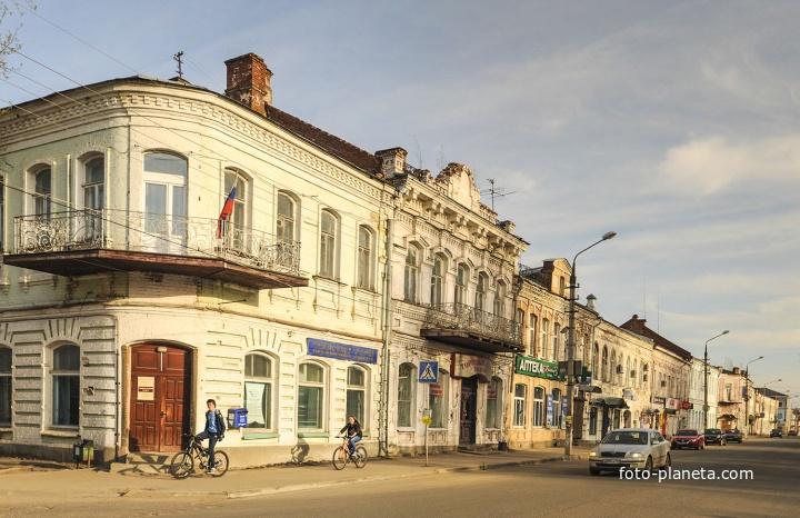 Казанский проспект. Центральная улица.