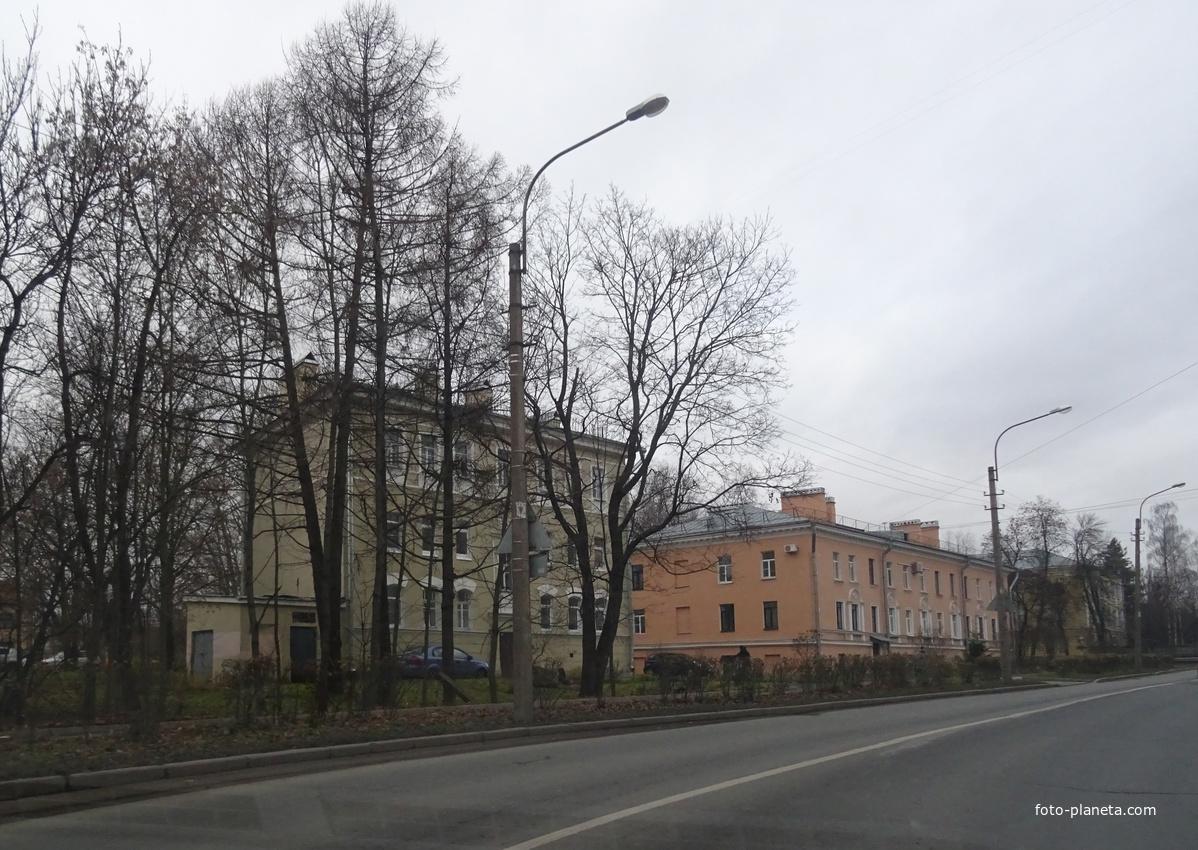 Улица Сапёрная