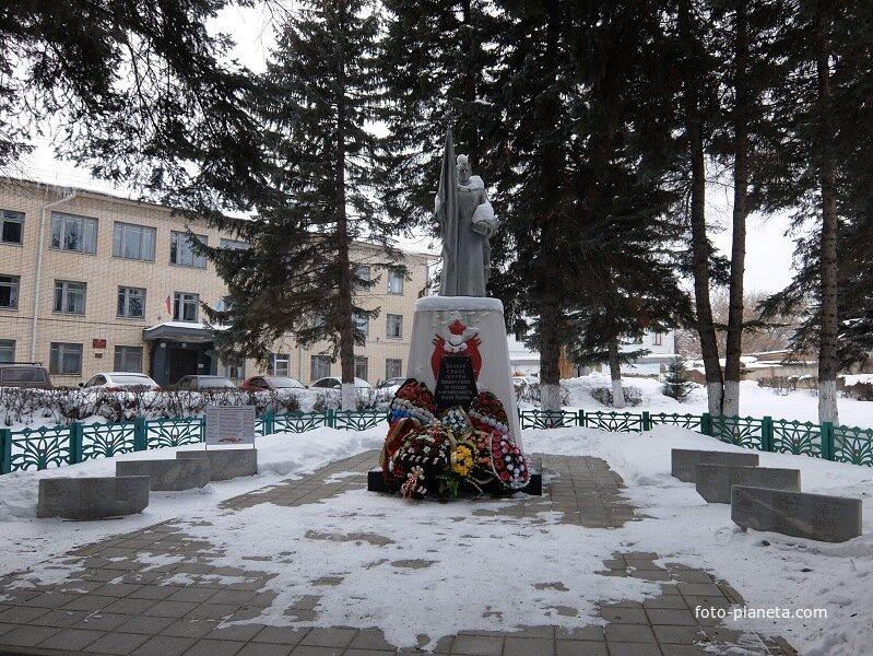Братская могила погибших в ВОВ жителей Белева
