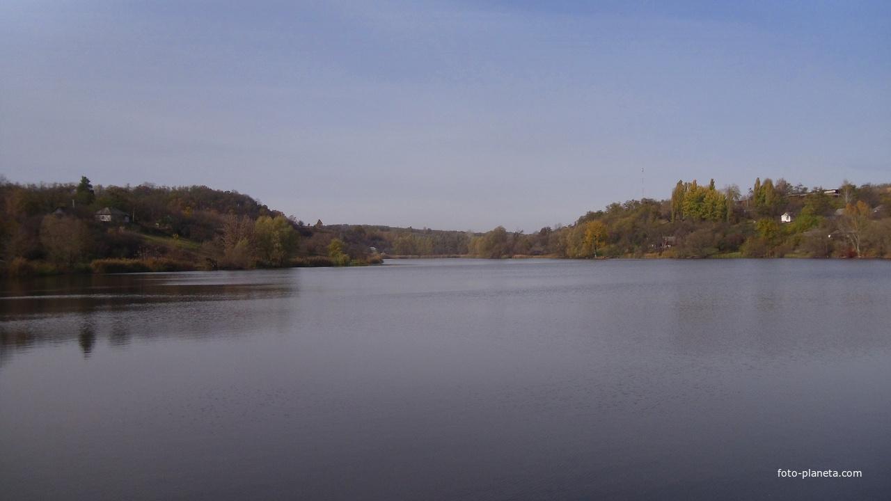 Плескачівський ставок,осінь 2018 року.