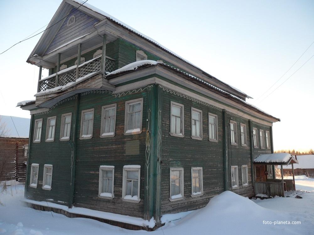 Деревня Сия, Холмогорский район, Архангельская область дом Доронина