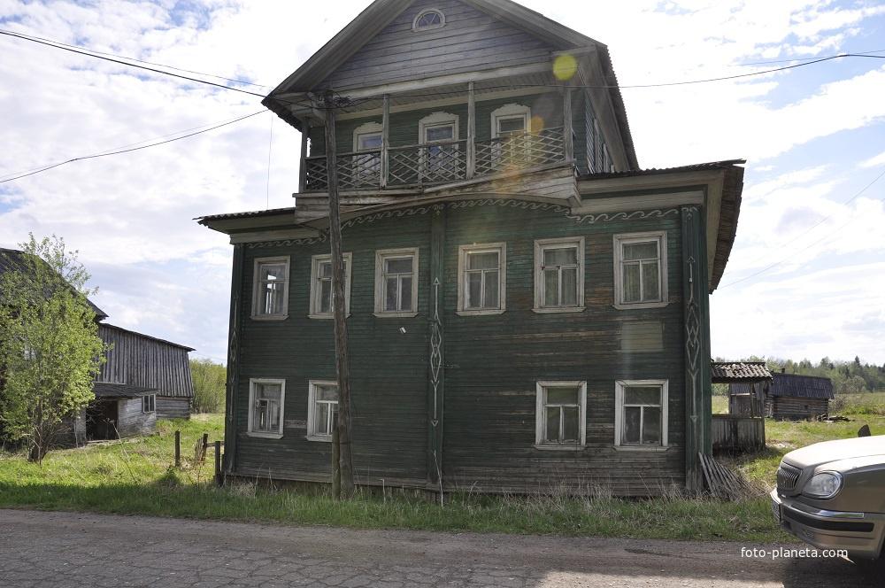 Деревня Сия, Архангельской области Холмогорский район, дом Доронина