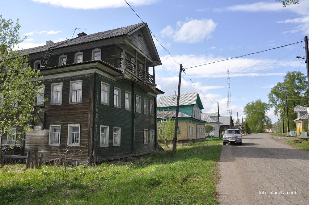Деревня Сия, Большая гора, Архангельская область, дом Доронина