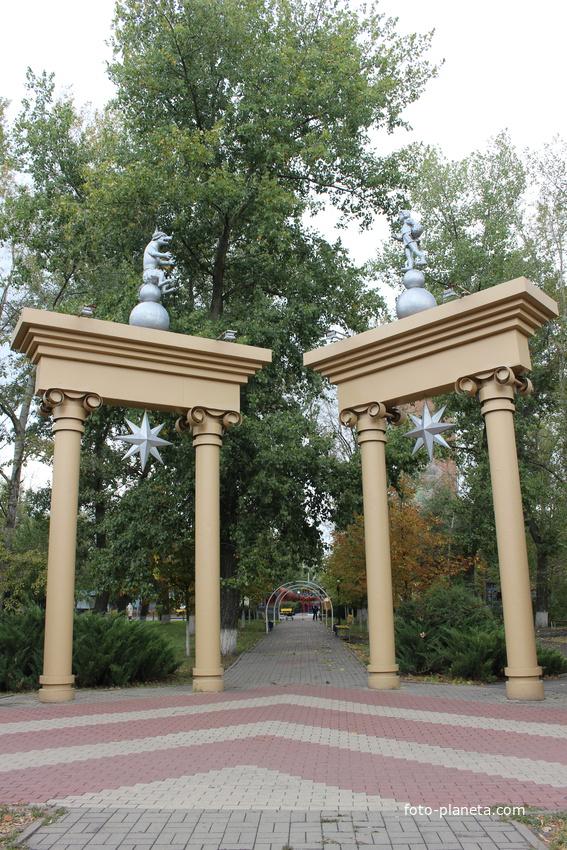 Лиски. Городской парк.