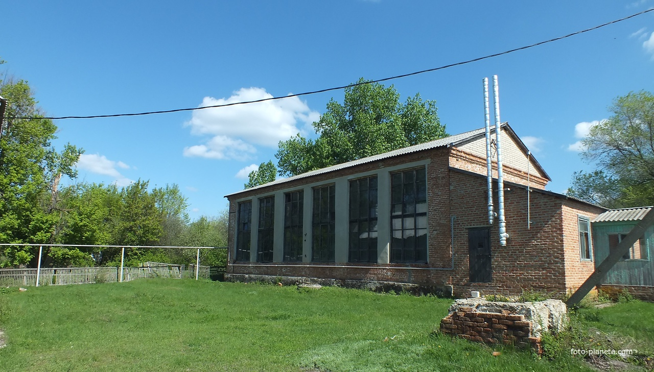 Старый школьный спортзал