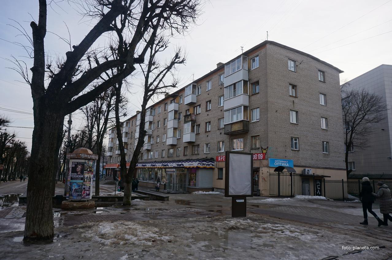 Улица Октябрьской Революции.