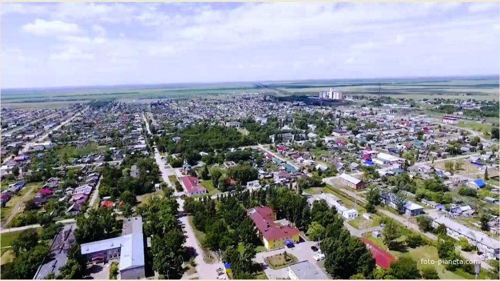 Мокроус. Вид с высоты. Фото 2017г.