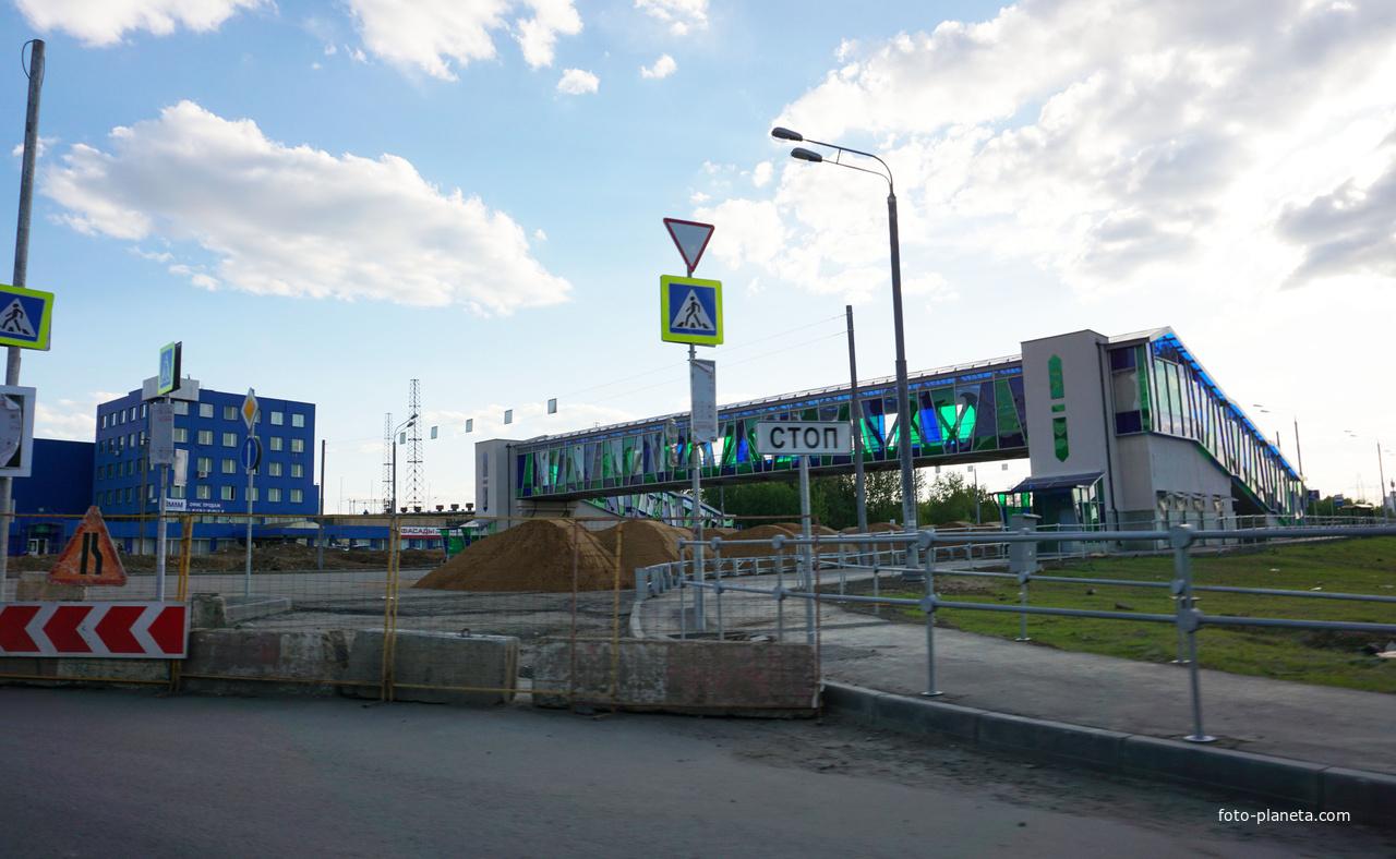 Новый пешеходный переход