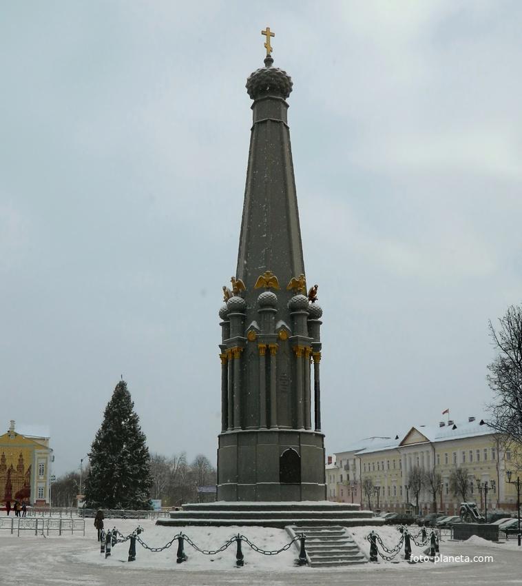 Полоцк. Памятник героям Отечественной войны 1812 года