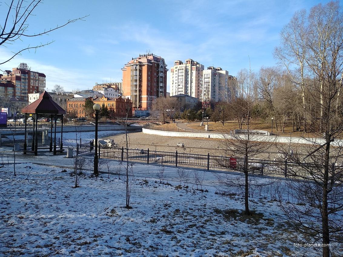 Район городских прудов