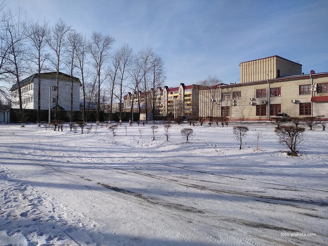 Район овощесовхоза